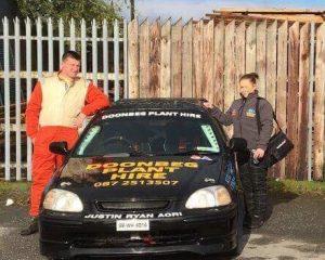 Quinn Family Affair at Garda Motor Club's Baltinglass Rally