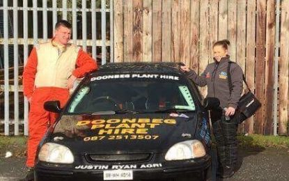 Quinn Family Affair at Garda Motor Club's Baltinglass Rally
