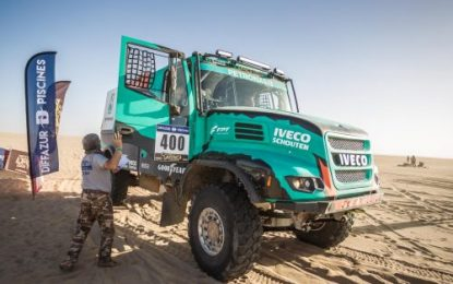 Dune SS9 on Africa Eco Race does not make a difference De Rooy hoped