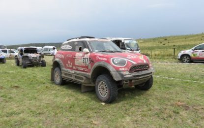 Four MINI crews complete Dakar Rally 2018