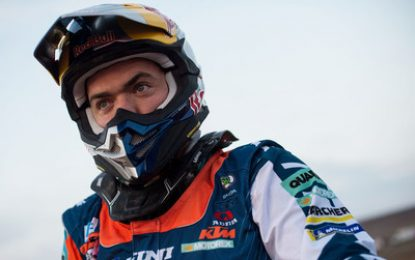 WALKNER 3rd on Dakar's technical SS6 for KTM