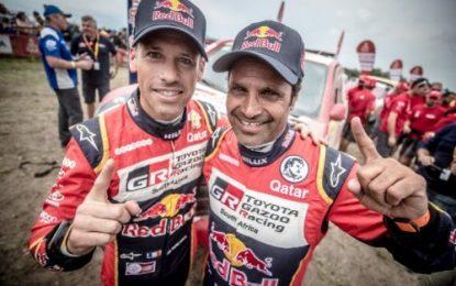 Toyota Gazoo Racing South Africa 2 podium placings on Dakar 18