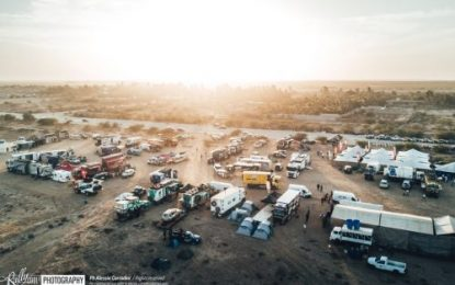 Smiles all around: Last Stage of Africa Eco Race 2018