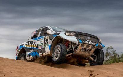 All 5 South Racing's cars finish demanding Dakar 2018