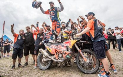 17th Dakar Rally win in a row for KTM