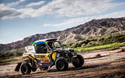 South Racing Can-Am Team's Varela & Gugelmin win SxS Class on Dakar 2018
