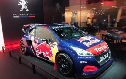Team PEUGEOT Total looks to conquer FIA World Rallycross Championship