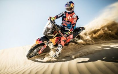KTM dominate early stages of Abu Dhabi (UAE) Rally 2018
