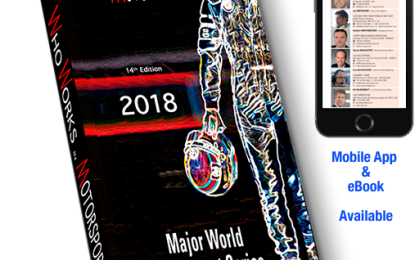 14th Edition – WHO WORKS IN MOTORSPORTS 2018