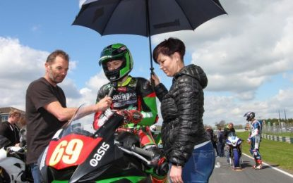Caolán Irwin takes 3 x 2nds on Supersport Pro debut at Mondello Park
