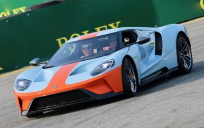 Gulf &  Ford GT celebrate 50th anniversary of its first Le Mans victory