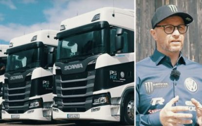 Solberg on Safe road to Hell with Scania