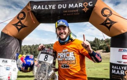 Red Bull KTM Factory Racing's Price wins 2018 FIM Cross-Country Rallies World Championship