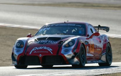 Pole Before Unfortunate Early-End For Team Panoz Racing