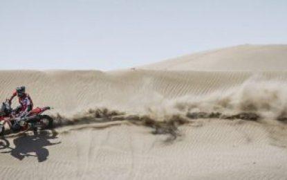 Monster Energy Honda Team at Morocco Rally to close season