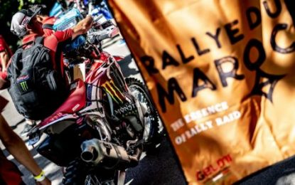 Positive vibes for Monster Energy Honda Team ahead of Morocco Rally