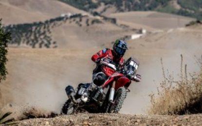 Good start for Monster Energy Honda Team in Rally Morocco