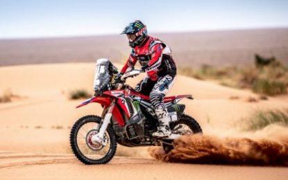 Complicated SS2 navigation on Morocco Rally for Monster Energy Honda Team