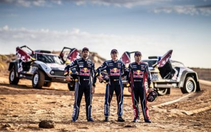 Top MINI X-raid MINI JCW Team for 2019 Dakar