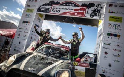 Win #2 of the season for Nani Roma & MINI JCW Rally