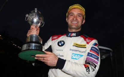 Ulster's Colin Turkington secures third BTCC title