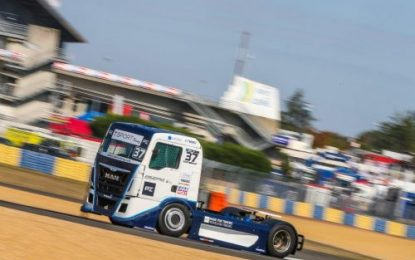 T-Sport Truck Racing's Terry Gibbon – 3 times on podium at Le Mans!