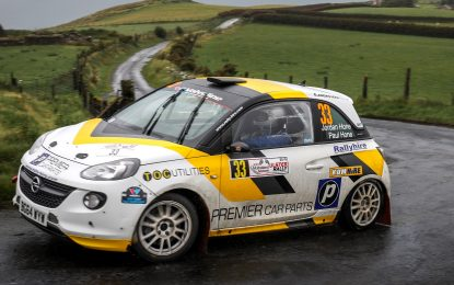Hone gains Young Rally Driver of the Year nomination