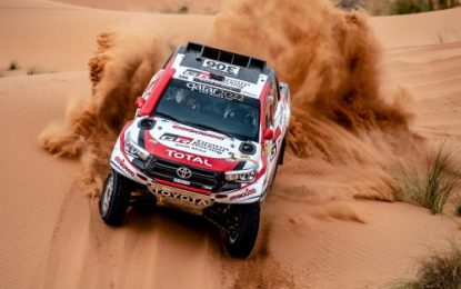 5-in-a-Row Rally Morocco wins for Toyota's Nasser Saleh Al-Attiyah