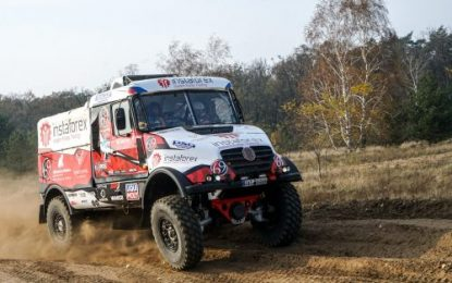 Loprais ready for another Dakar for Tatra