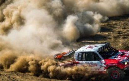 Podium at Baja 1000 for Honda Off-Road Racing Team & Ridgeline Baja Race Truck