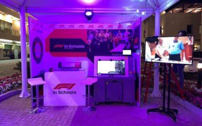 F1 IN Schools showcases education programme in Abu Dhabi F1 GP paddock