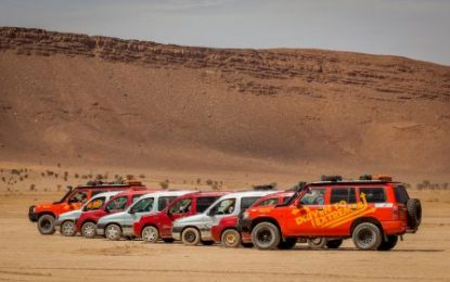 There's still time to drive the original Dakar Rally route across the Sahara Desert