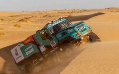 Team Petronas De Rooy Iveco – Going for Gold in 2019 Dakar Rally on Goodyears