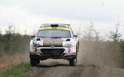 RHD R5 cars to compete on the Irish Tarmac Rally Championship