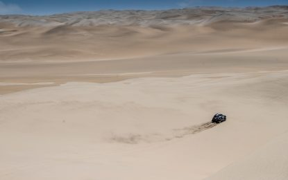 Dakar Rally SS7: Second place for MINI's Nani Roma