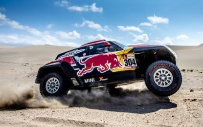 Dakar Rally SS8: Tough day in Ica dunes for MINI JCW Buggy as Dakar enters finish straight
