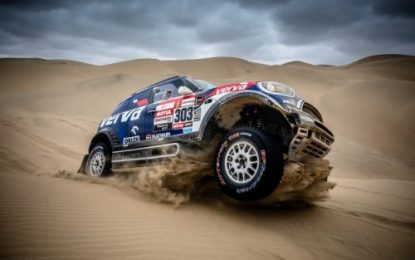 Dakar Rally SS9: Two MINI JCW Rally in the top five overall