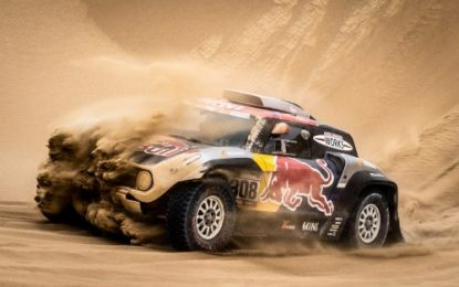 Dakar Rally SS9: No luck today for the X-raid MINI JCW Team