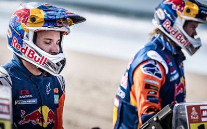 KTM's Sam Sunderland wins hard-fought SS5 Dakar Rally