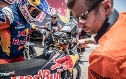 SS7 Dakar victory for Red Bull KTM Factory Racing's Sam Sunderland