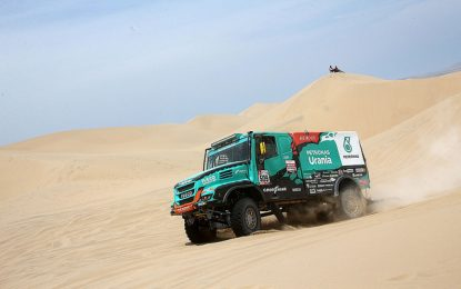 Tough day at office for Iveco's Van Genugten