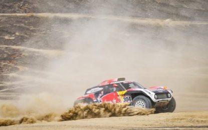 Dakar Rally SS3: Peterhansel wins with MINI JCW Buggy