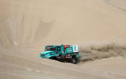 Frustration prevails at Team De Rooy Iveco on the penultimate Dakar Rally day
