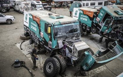 Surprising Stage Win for De Rooy Iveco & Move up rankings!