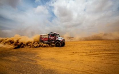 Loprais Tatra advances to Top 6 after Dakar after Marathon Stages