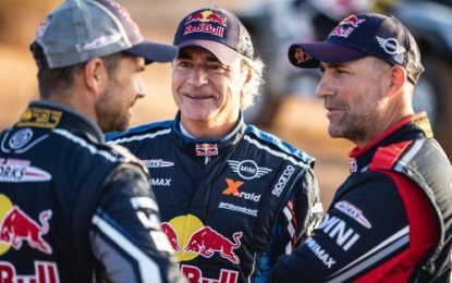 Dakar Rally SS6: All three MINI JCW Buggy in top 10