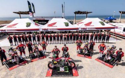 Shakedown time for Monster Energy Honda Team before Dakar Rally gets underway