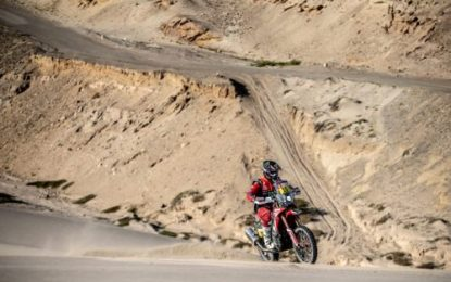 Brabec retakes the leadership of Dakar after SS7 for Monster Energy Honda