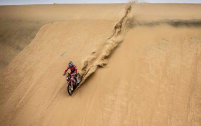Longest special on Dakar puts 'spanner in the works' for Monster Energy Honda Team