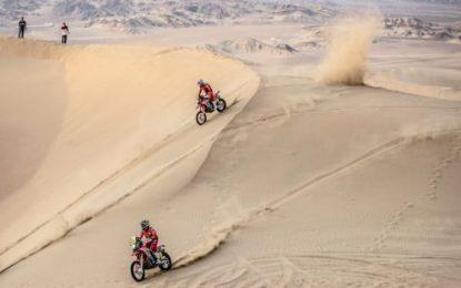 Honda's Cornejo takes a leap forward on penultimate stage of Dakar